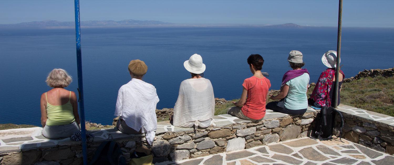 Stage qi gong en Grèce à Amorgos